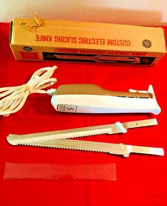 Vintage General Electric Custom Electric Slicing/Carving Knife EK15