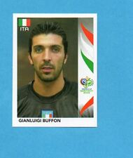 PANINI-GERMANY 2006-Figurina n.323- BUFFON - ITALIA -NEW BLACK