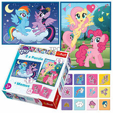 Trefl 2 In 1 30 + 48 & Memo Girls My Little Pony Magic Friendship Jigsaw Puzzle