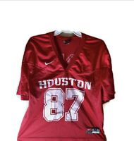 UNIVERSITY OF HOUSTON COUGARS #87 RED UH UofH (RARE) Jersey