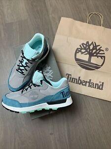 New Timberland field trekker Low Hiker Suede Trainers Shoes Size UK 8.5 EU 43