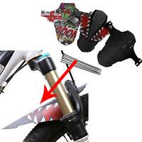 1 PC Mountain Bike Accessories Mudguard MTB Bicycle Fender Front/Rear Wheel UK