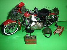 Harley Davidson ELECTRA GLIDE Franklin Mint B11G315 2010 CHRISTMAS MINT IN BOX