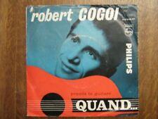 ROBERT COGOI 45 TOURS BELGIQUE QUAND