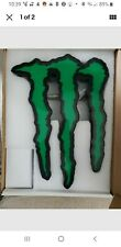 Monster energy led sign