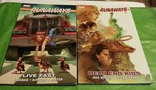 Runaways Vol.7: Live Fast  & Vol.8 Dead End Kids (LOT OF 2)  Brian Vaughan TPB