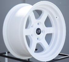 One 15x8 Rota GRID V 5x114.3 +0 White Wheel