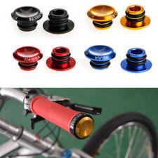 Bike MTB Mini 1 Pair Aluminum Alloy Grip Handlebar Bar End Plugs Stoppers Caps