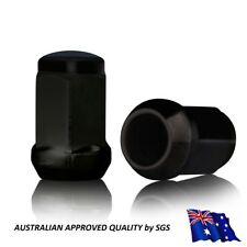 20 x 12x1.5 wheel nuts HOLDEN Commodore VT VX VY VZ WHEEL MODS Lug Nuts Black
