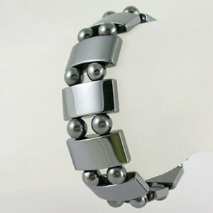 Bracelet de perles hématite