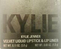 Kylie Cosmetics Velvet Lip Kit Liquid Lipstick & Liner Shade Bare - Authentic