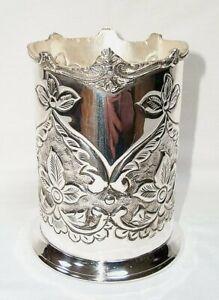 Bottle Holder, Bottle Stand, Art Nouveau Wine Silver Plated