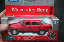 Mercedes-benz w123  welly nex 1:43 1:38 voiture miniature