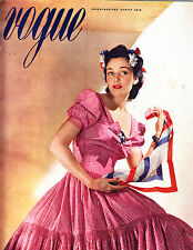 VOGUE May 1 1940 Horst Vivien Leigh Lady Mendl Duchess of Windsor