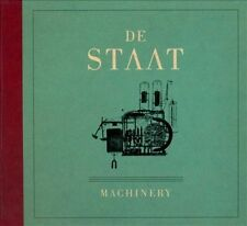 Machinery by De Staat (CD, Mar-2011, Cool Green Recordings)