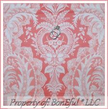 BonEful FABRIC FQ Cotton Quilt Jennifer Paganelli Lace Flower Power Cream Damask