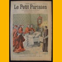 LE PETIT PARISIEN Supplément littéraire illustré Cyclone d'Hanoï 2 août 1903