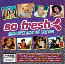 So Fresh Greatest Hits Of The 90s Britney Spears TLC UB40 BRAND NEW SEALED 2CD