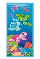 "NEW! ~ ""HONU FAMILY"" HAWAII BEACH TOWEL!"