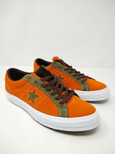 Converse One Star Pro Ox Orange Green White Casual Skating Shoes 161617C Size 10
