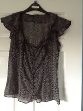 Ladies Top From F&F Size 10