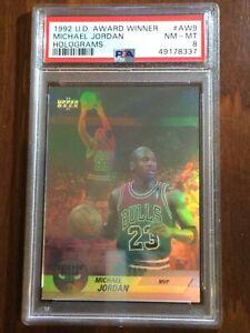 "1992 UD ""MVP Award Winner"" — Michael Jordan — 7th Year — PSA 8 — pop 700 (ALL)"