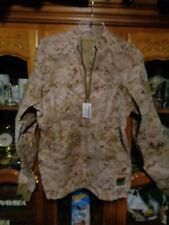 USMC Desert MARPAT Inclement Weather Combat Shirt FROG Size MEDIUM REG M-R  NWT