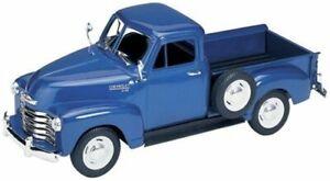 Chevrolet 3100 Pick Up 1953 Bleu 1:24 Model 2087BL Welly