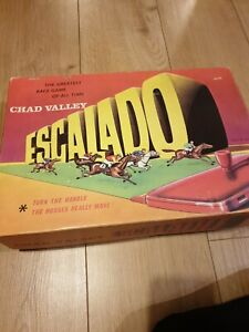 Vintage Chad Valley Escalado Horse Racing Game G11