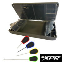 NGT XPR PLUS Tackle Box and Baiting Needles Stiff Rig Wallet Terminal Fishing