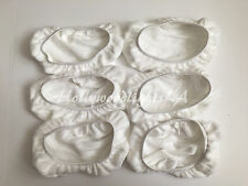 6 Replacement Microfiber Pads compatible with Swiffer SweeperVac Sweeper