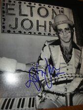 More details for elton john terrific early hand-signed 10