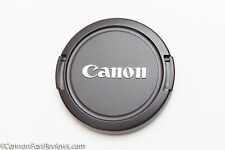 GENUINE ORIGINAL EXCELLENT CANON E-58MM EF EF-S EOS LENS CAP 58MM 28m 50mm 100mm