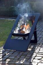 Feuerschalen & Terrassenöfen aus Stahl mit Säule Standard