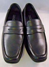 Perry Ellis Portfolio Mens Shoes Size 5 Black Loafer Slip On Dress Shoe Bryce