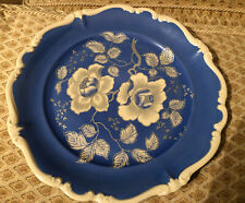 Vintage Rosenthal Charger Platter Tray Plate Germany Pompadour Blue White Nice