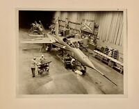 "Vintage Photo Northrop Assembly Plant, YF-17 Fighter Aircraft USAF  8""x 10"" B&W"