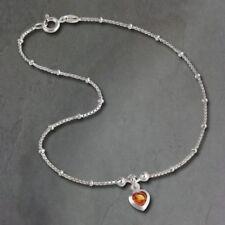 Pulseras de joyería ámbar plata