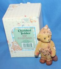 Cherished Teddies Hunter Me Cavebear You Friend Figurine # 354104 1998 By Enesco