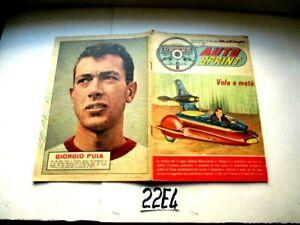 PUIA   AUTO SPRINT SUPPLEMENTO AL N° 883  ALBI DELL'INTREPIDO 1962    (22E4)