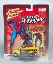 Johnny Lightning Amazing Spider-Man 1956 Chevy Chevrolet Bus HO Scale Model