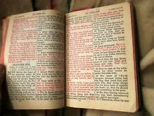 Vintage Old New Testament And Psalms Large Type Red Letter World Publishing