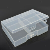 24 x Hard Plastic Case Holder Storage Box for Rechargeable AAA Batteries
