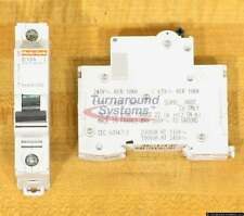 Square D MG17406 Circuit Breakers 15 Amp 1P, 277 VAC 65 VDC, DIN, Lots of 12 NEW
