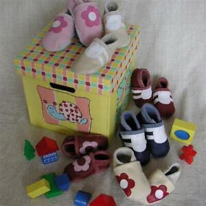Babyschuhleder Serie Z59 - MUSTER - weiches Ökologisches Rindleder für Puschen