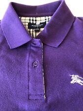 Boys Burberry Polo Shirt Xxl