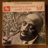 Yusef Lateef LP Centaur Phoenix Riverside 9337 vg+ lp  Green label super clean