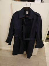 WOMENS NAVY COAT PLUS SIZE 22 TU SAINSBURY'S