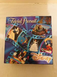 Disney Animated Picture Edition Trivial Pursuit complete and immaculate set