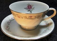 Fine China of Japan Royal Swirl Tea Cup Saucer Set Excellent